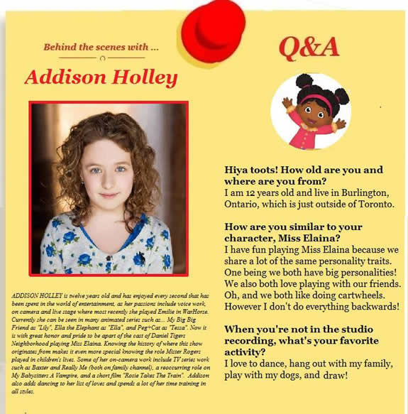 addison holley height
