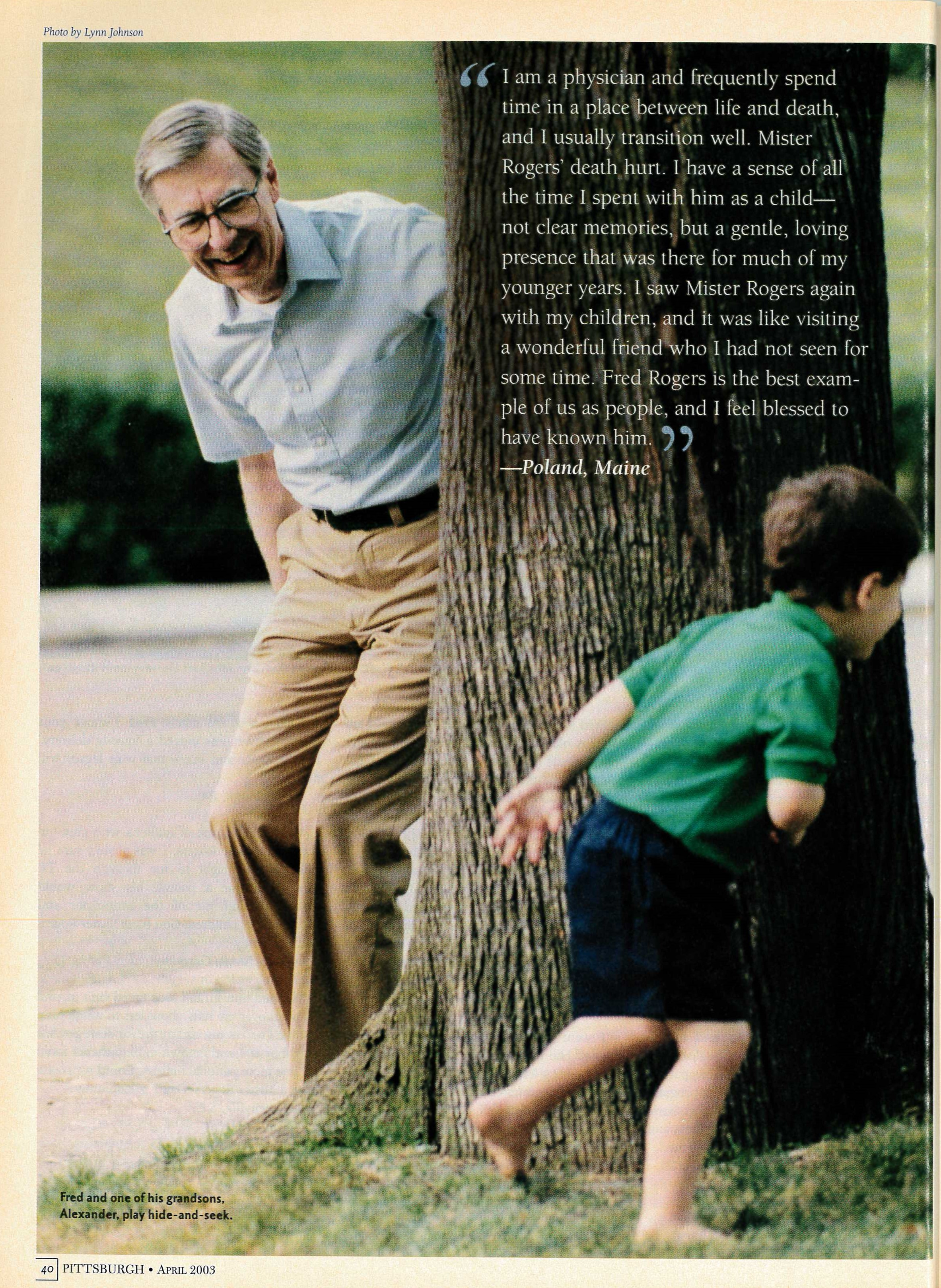 Pittsburgh Magazine The Mister Rogers Neighborhood Archive